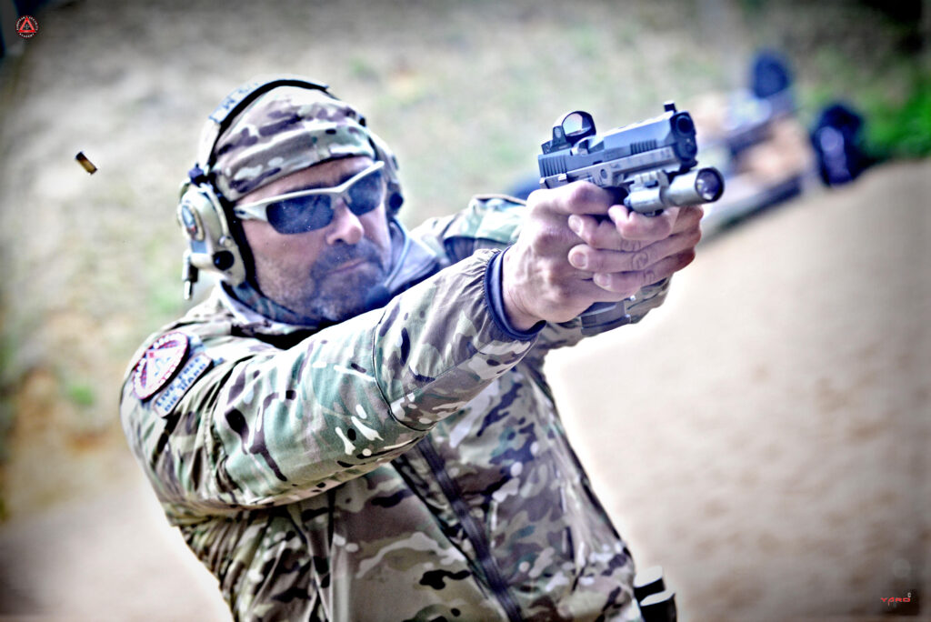 Red Dot Sight Pistol Transition